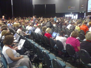 Audience using laptops in Learning@School
