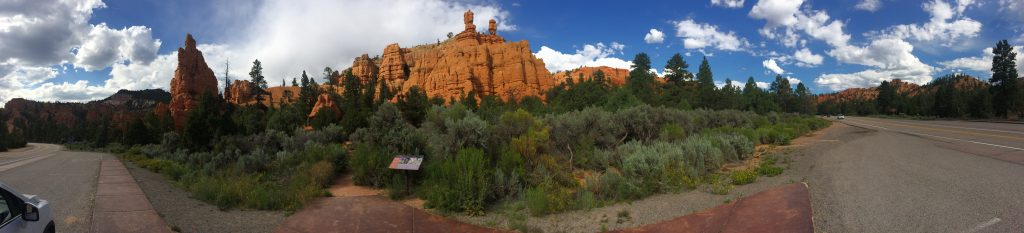 Red Canyon panorama