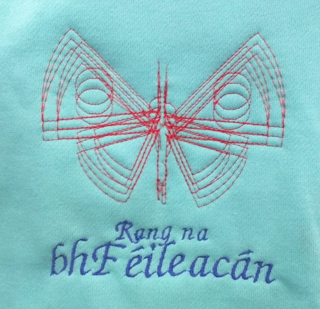 butterfly class embroidery